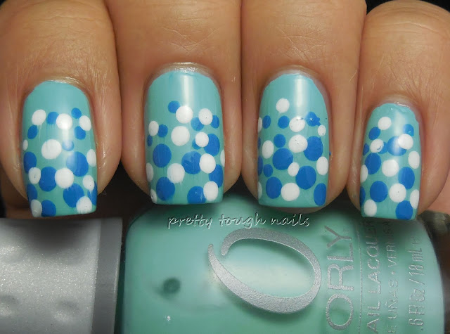 Orly Gumdrop with Gradient Dotticure