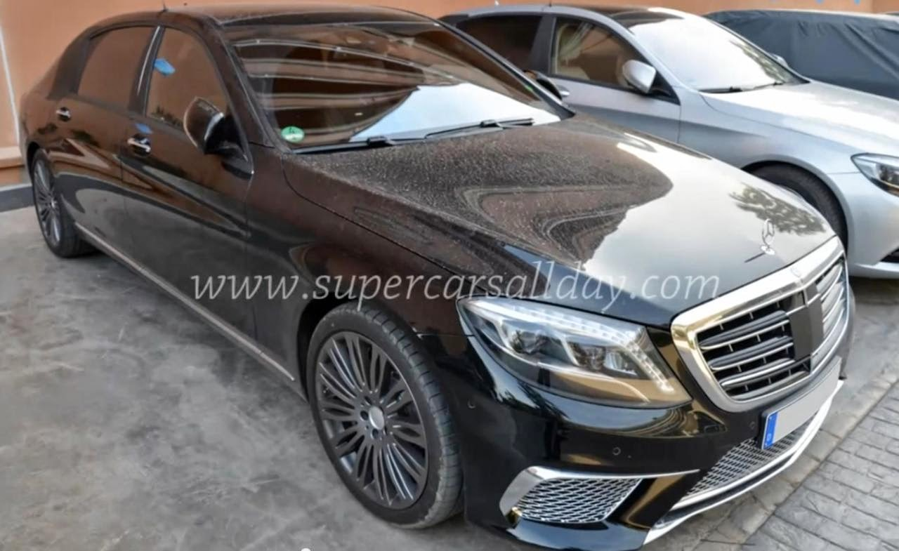 the gear shift mercedes benz s65 amg maybach spied video