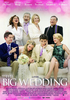 The Big Wedding 2013 poster