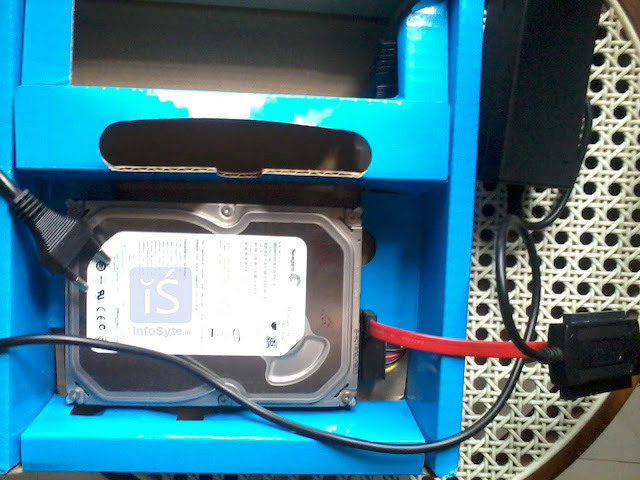 use of old Hard Disk as External Hard Disk Drive