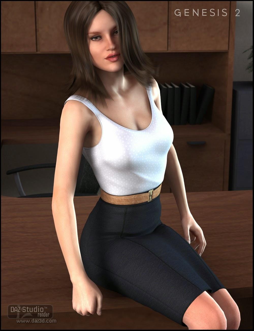 Robe journée de travail pour Genesis 2 Femme