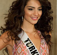 Melisa Asli Pamuk Swimsuit - Miss Turkey 2011