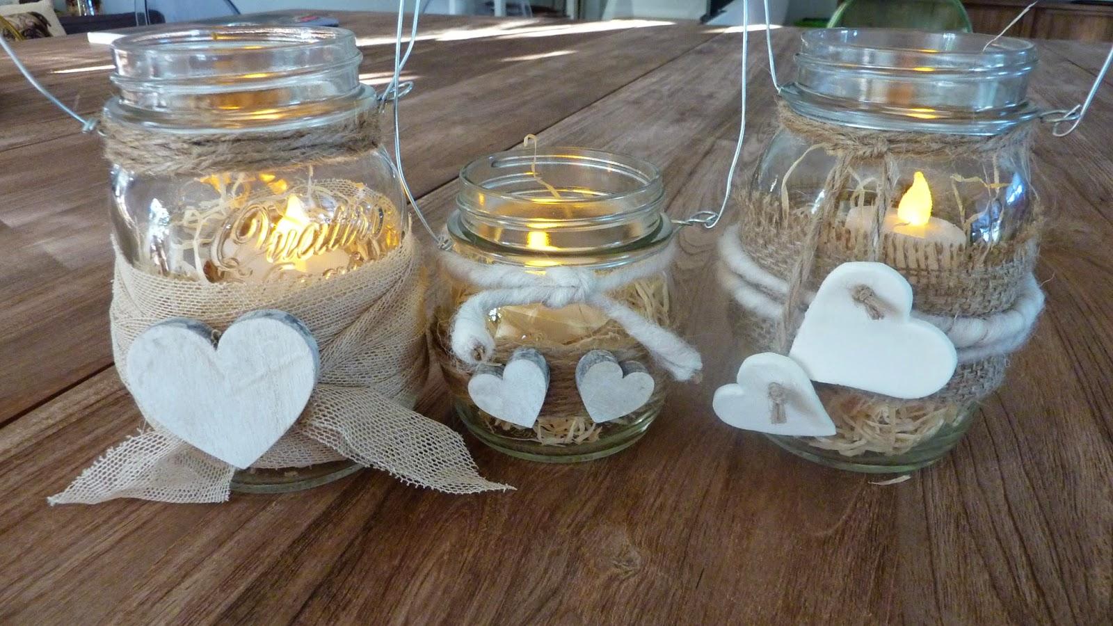 Nella valigia della buru 10 lanterne fai da te esempi e - Portacandele da tavolo ...