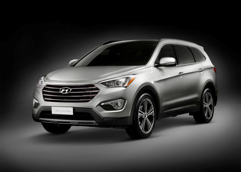 Hyundai Reveals 2013 Santa Fe
