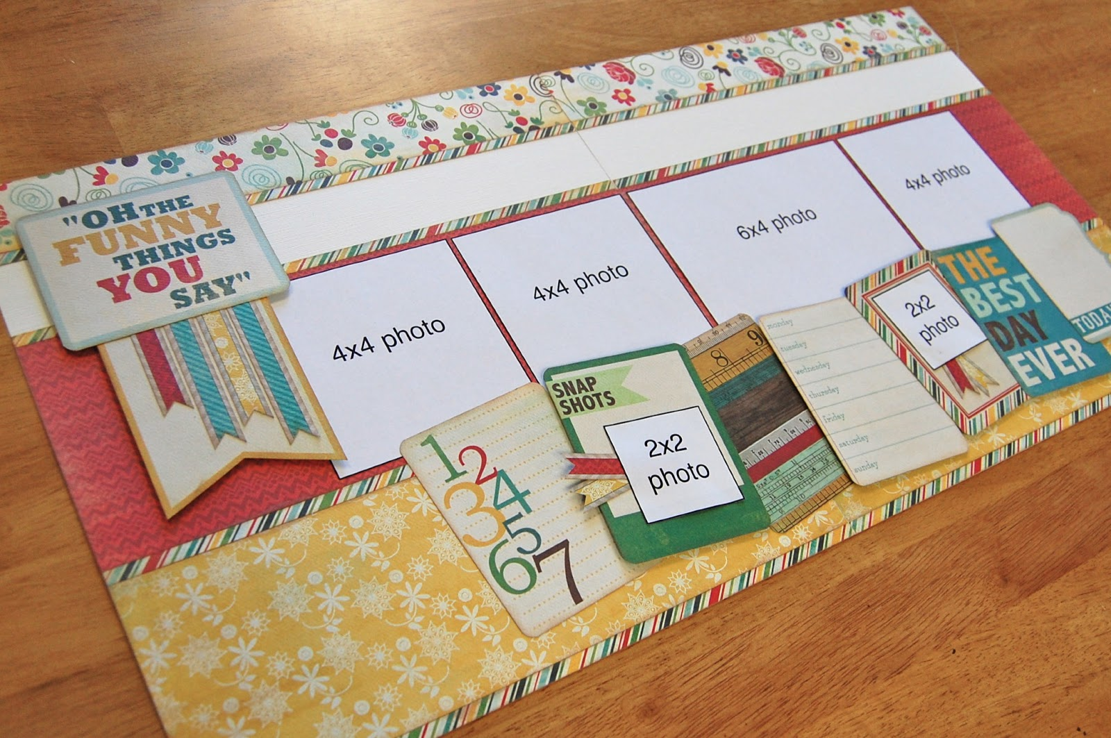 Scrapbook Pages - Double Page Layout on Pinterest ...
