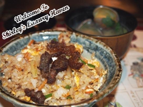 tokyo hama steak house garlic rice