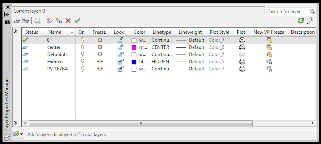 cara membuat layer dalam autocad