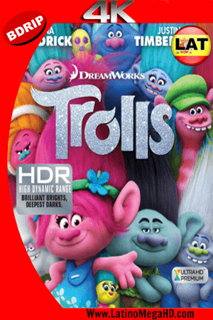 Trolls: (2016) Latino Ultra HD 4K BDRIP 2160p ()