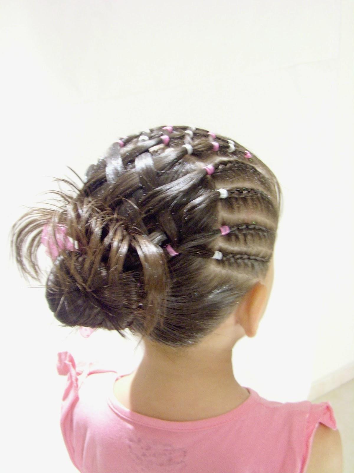 Peinados Para Bautizo De Nina Cabello Corto Las Mejores Imagenes