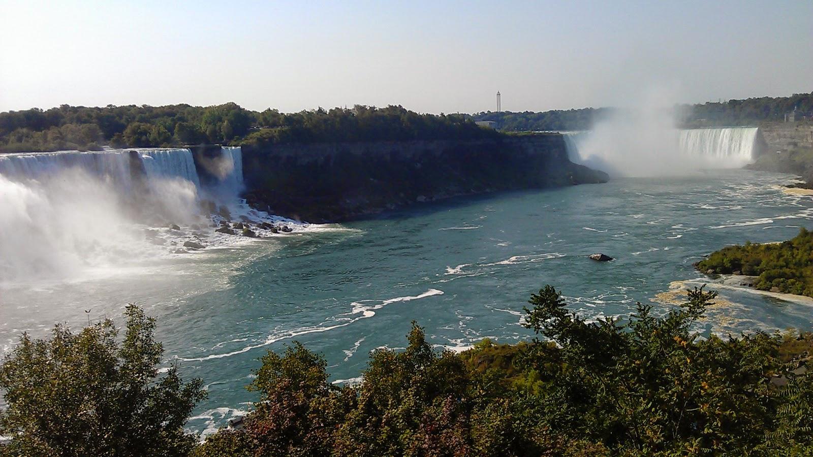 2012 Summer 美國加拿大東岸自駕行程∶尼加拉瀑布遊記 (Niagara falls)