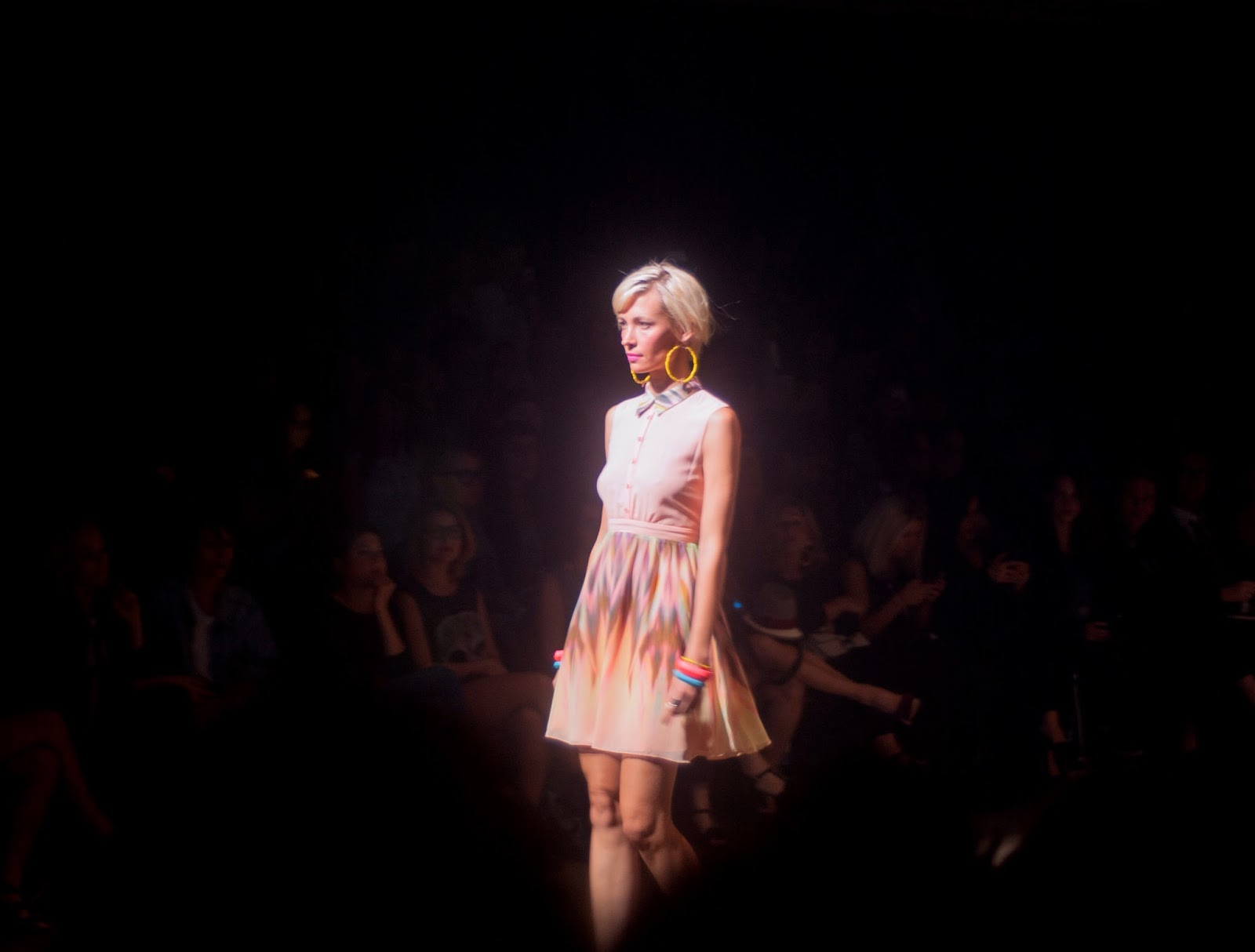 montreal fashion week eve gravel show runway catwalk