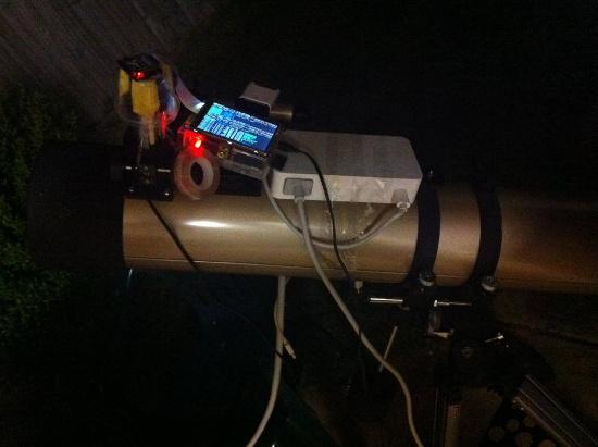 raspberry pi telescopio