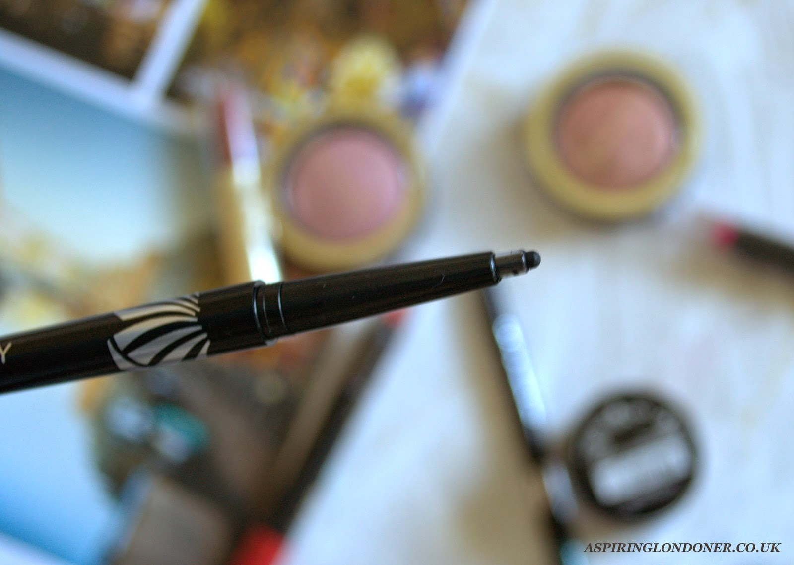 Max Factor Excess Longwear Eyeliners Charcoal Swatch - Aspiring Londoner