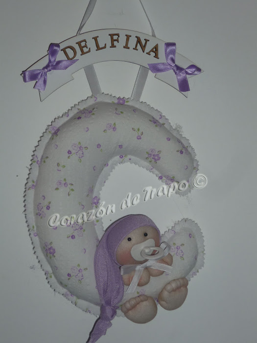 Cartel de bienvenida para el beb