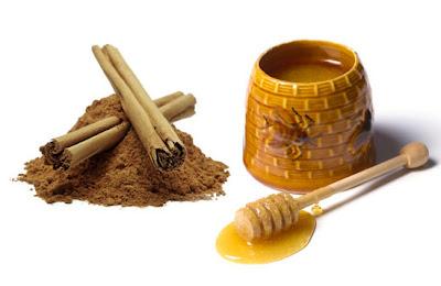 manfaat madu, bubuk kayu manis