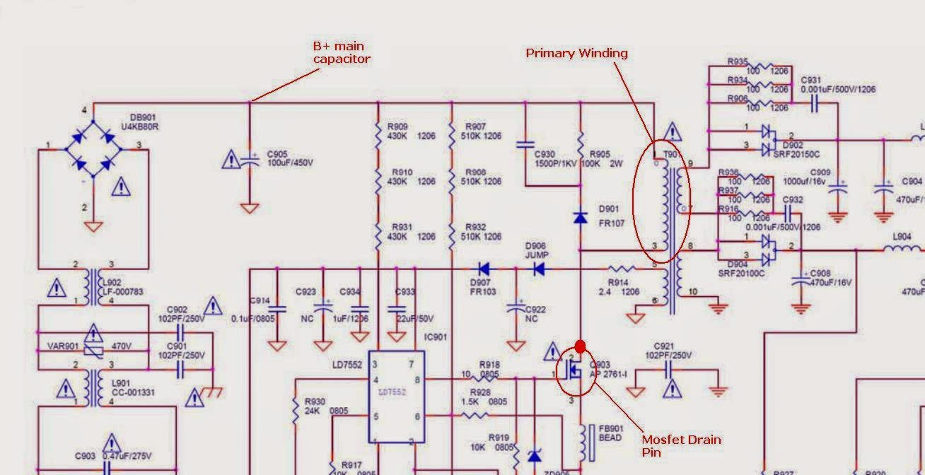 How to Find SMPS Transformer Primary Winding