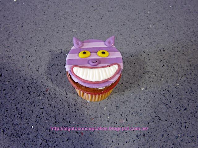 Cupcakes Alicia en el país de las maravillas