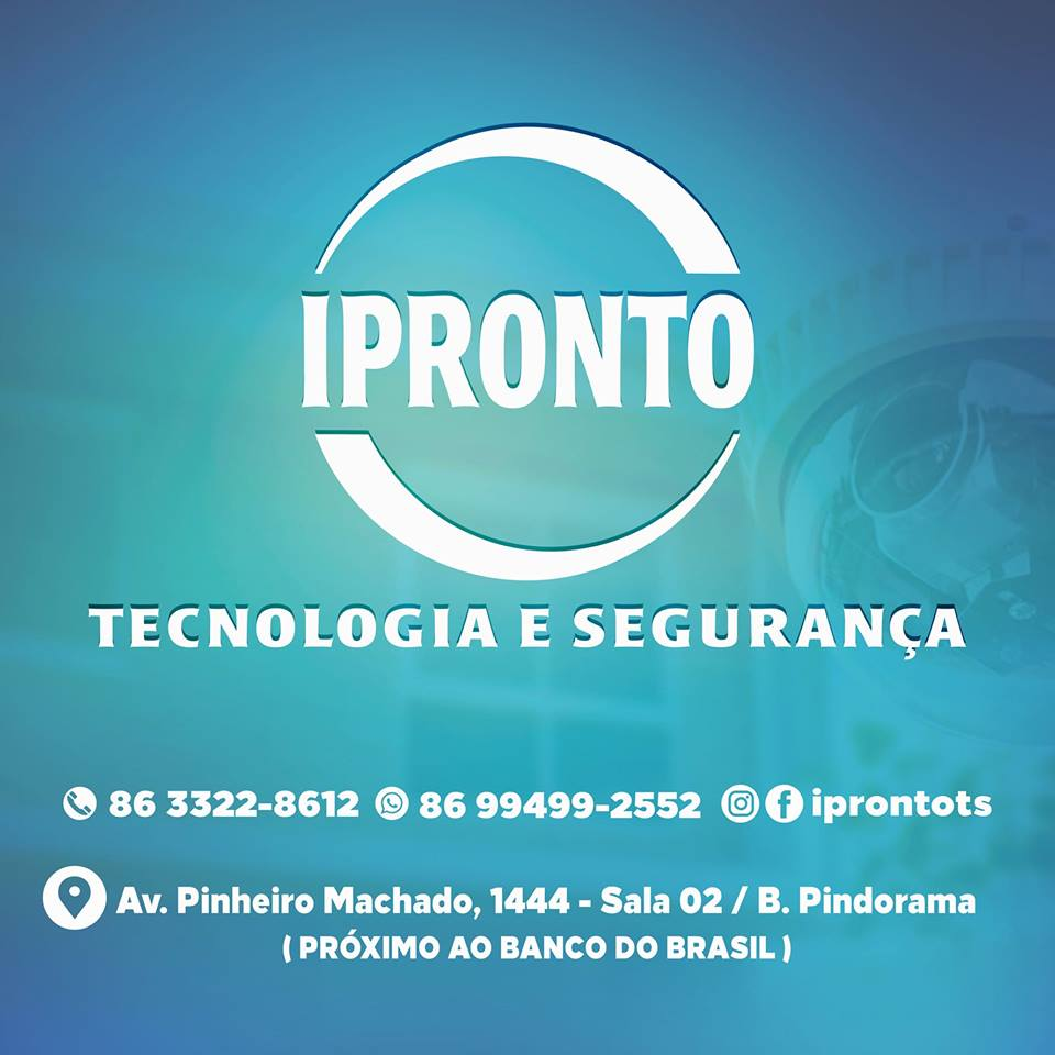 IPRONTO!   - Proteja seu patrimônio com os sistemas de segurança da IPRONTO.
