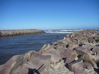 Arroyo Chuy - Barra del Chuy - Uruguay. Barra de Chuy. Balnearios de Rocha.