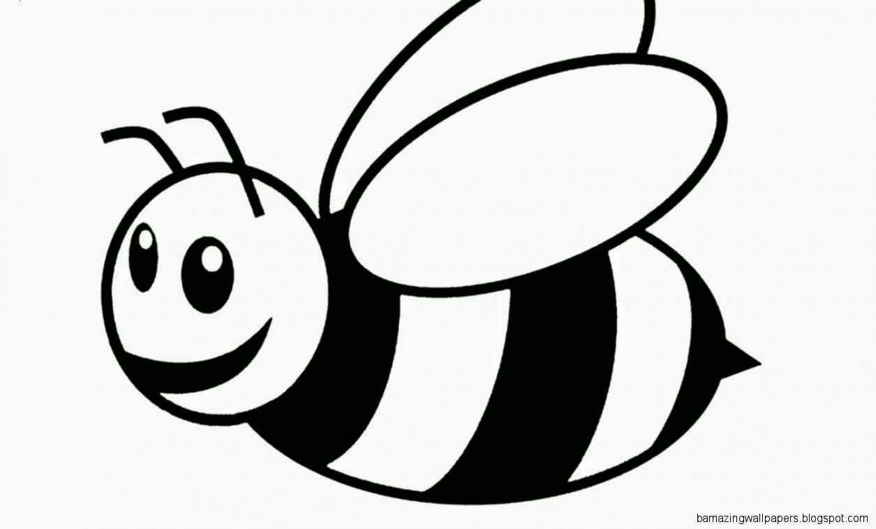 animals of bees Colouring Pages
