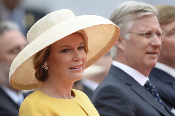 Royals At The Commemoration Of The Bicentenary Of The Battle Of Waterloo