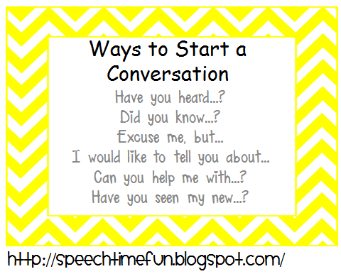 ways start maintain conversation