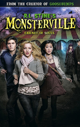R.L. Stine's Monsterville: The Cabinet of Souls (BRRip 720p Dual Latino / Ingles) (2015)
