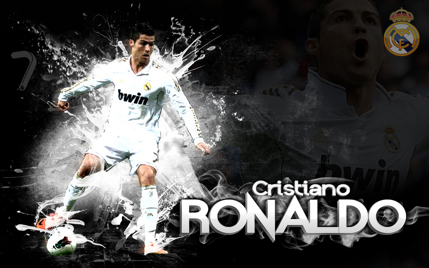 Cristiano Ronaldo Real Madrid Fresh Hd Wallpapers 12 2013