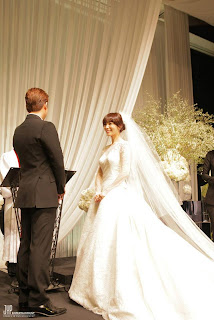 wonder girls sunye wedding ceremony pictures 12