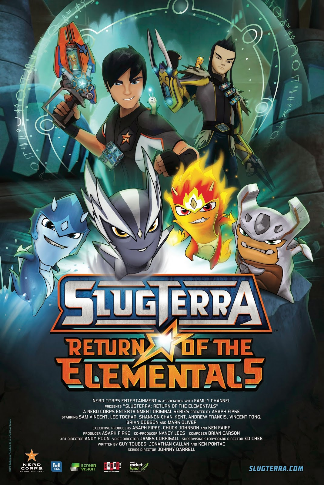 SlugTerra Return of the Elementals Games and Cips