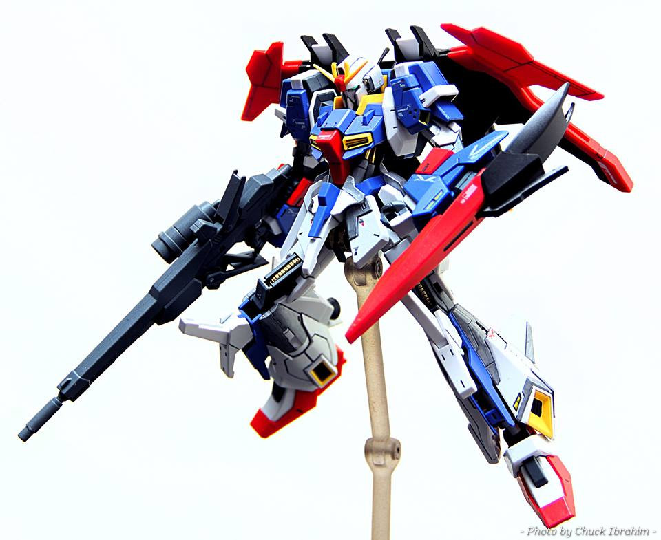 Lightning Zeta Gundam Model Kit Released