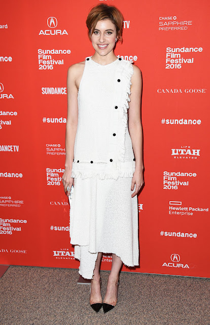Greta Gerwig at Sundance 2016