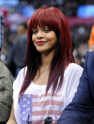 Kızıl uzun saç