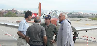 El president reunit amb gent de la Fundació Parc Aeronàutic de Catalunya