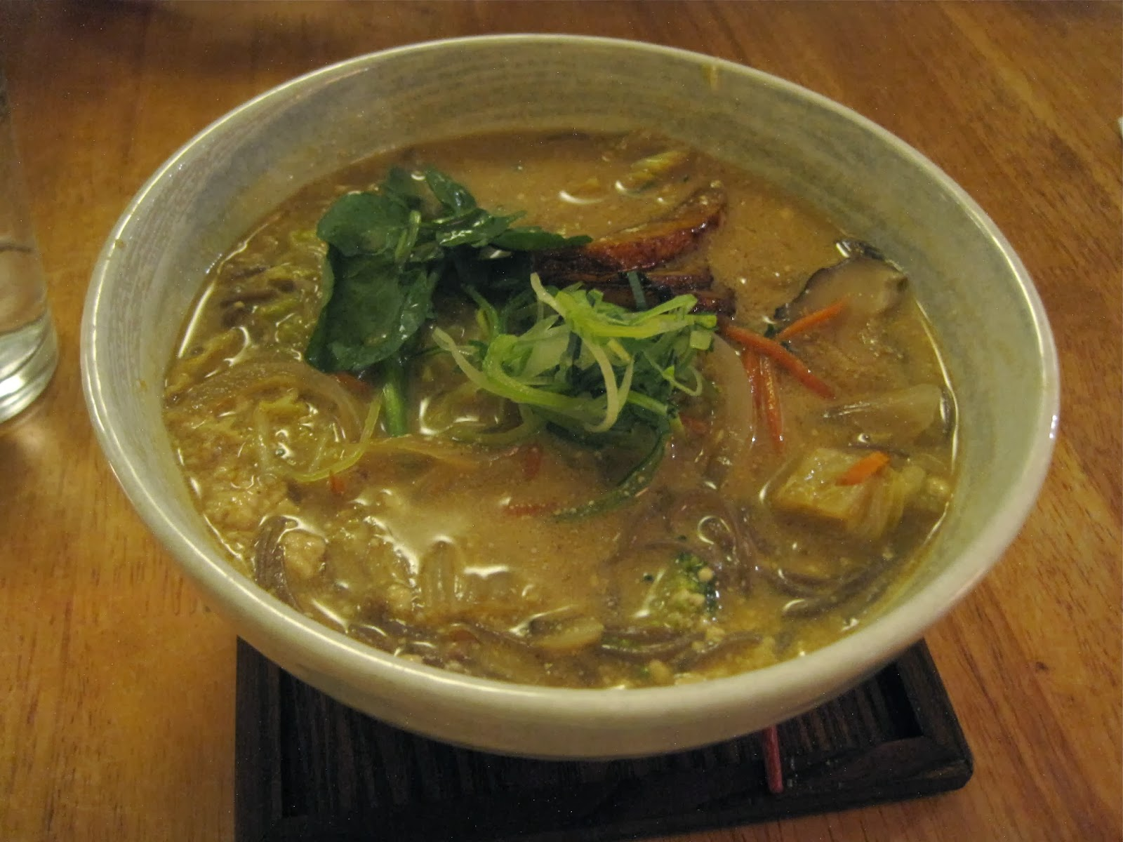 Vegan Tahini Shoyu with Soba Noodles - Souen NYC