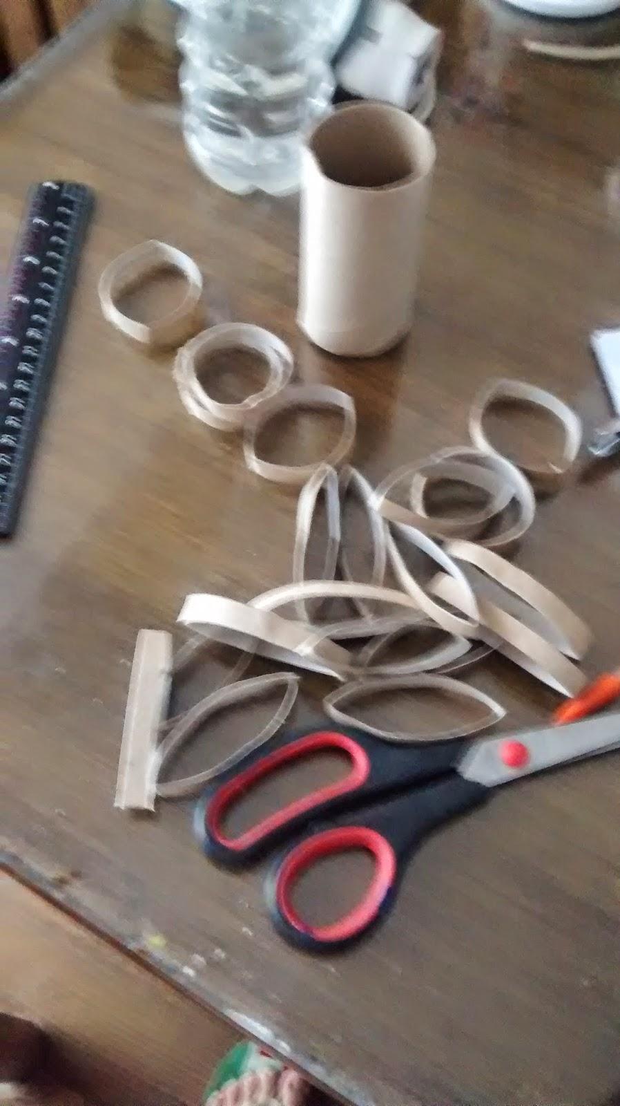 rollo de carton de papel higienico para decoracion