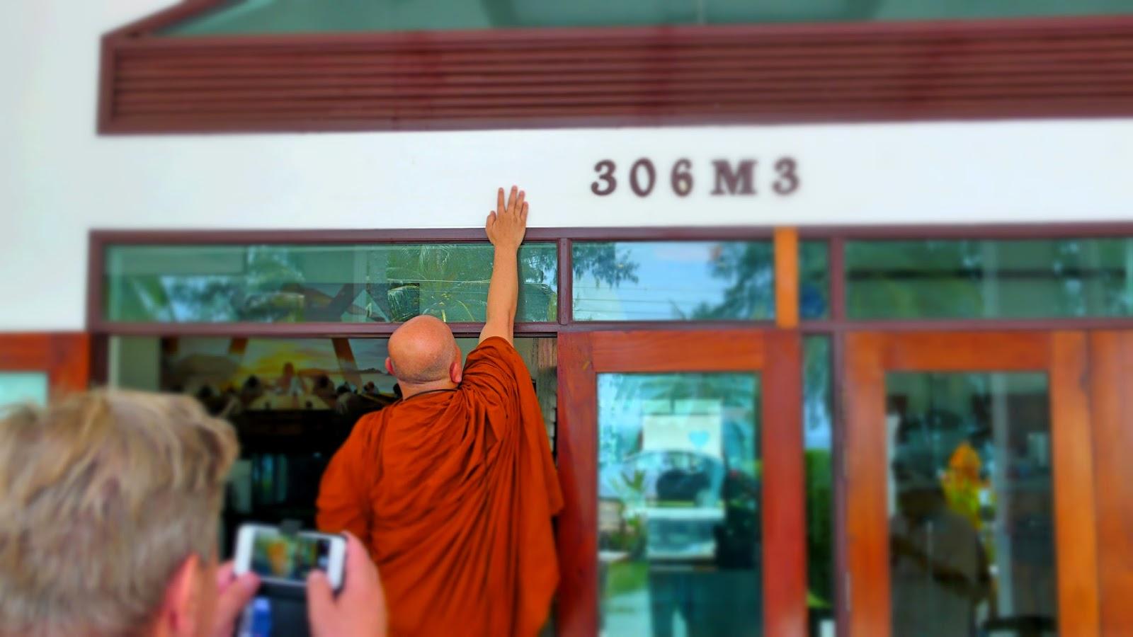 Segen für ein Haus in Thailand