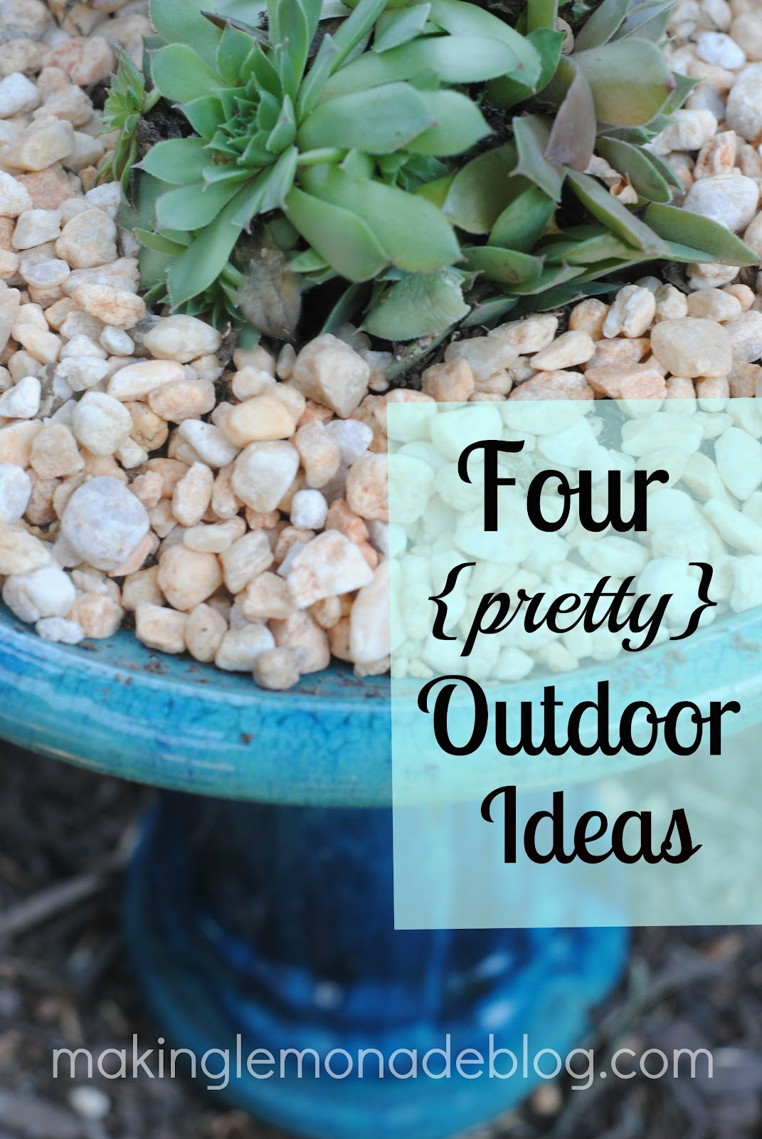 Refresh Your Nest Link-Up: Garden and Outdoor Living Ideas | Making ...