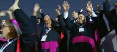 Bishops dancing