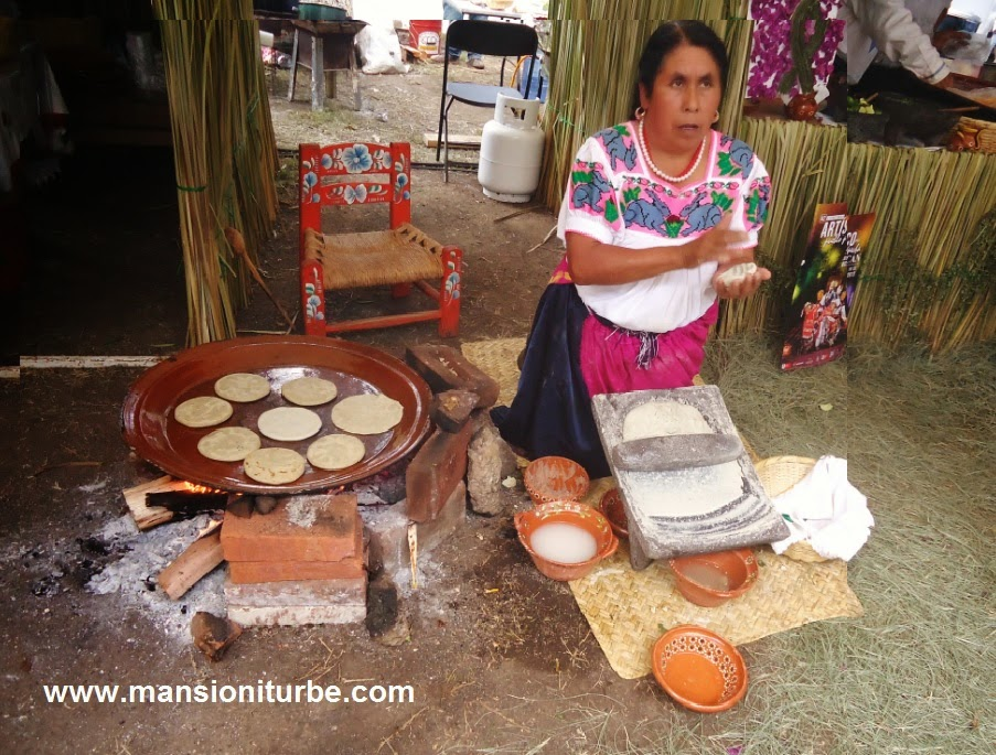 Juanita Bravo a renowned Master Cook from Michoacán