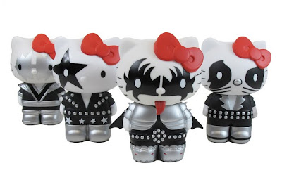 Hello Kitty Collectible Figurines, Hello Kitty Kiss, KISS Figures, Hello Kitty Gift Sets
