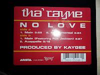 Tha\' Rayne – No Love  (VLS) (2002)