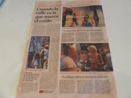 REPORTAJE TITULADO: LOS NUEVOS GURUS DE LA MODA