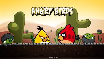 #4 Angry Bird Wallpaper