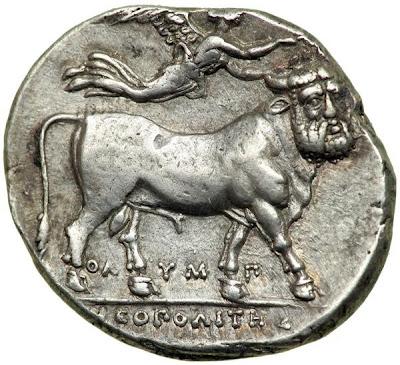 Didramma neapolitano del 380a.C.