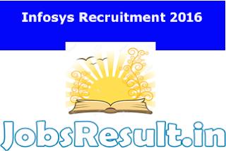 Infosys Recruitment 2016
