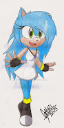 Stephany Dark Rose the Hedgehog