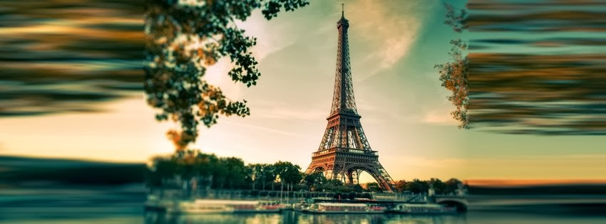 Une jolie couverture facebook paris