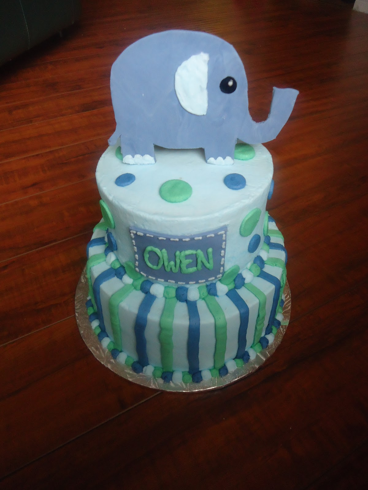 Charity s Sunshine Sweets ELEPHANT BABY SHOWER CAKE