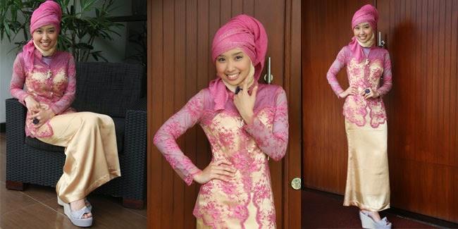 Foto Model Kebaya Muslim Jilbab Modern Terbaru